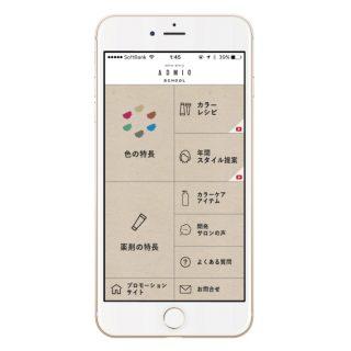 「カラーストーリー アドミオ」技術支援アプリを公開しました